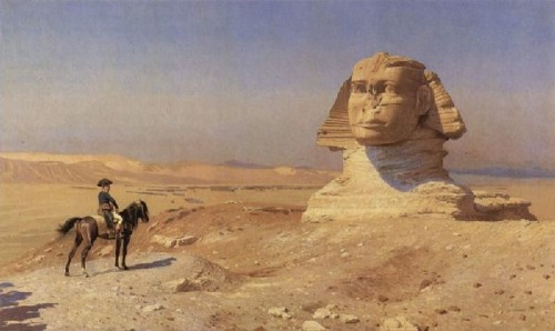 napoleon meets sphinx gerome 1862