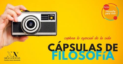 CÁPSULAS DE FILOSOFÍA