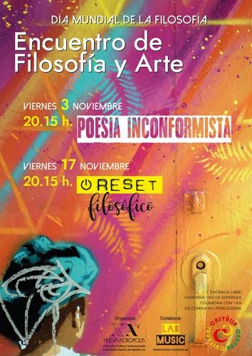 #RESETFILOSÓFICO: FILOSOFÍA DEL ARTE
