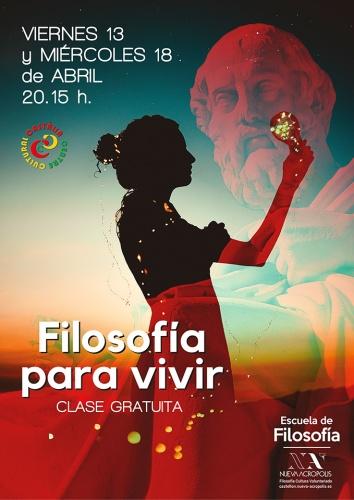Clase free : FILOSOFÍA PARA VIVIR
