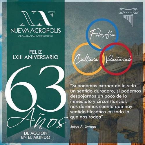 63 aniversario Nueva Acrópolis