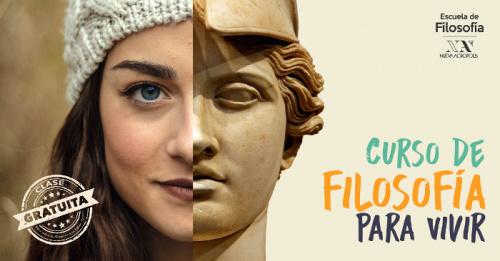 Presentación y primera clase gratuita CURSO #FILOSOFÍAPARAVIVIR