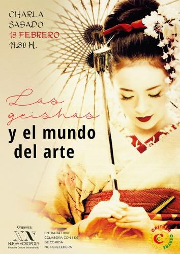 Las geishas y el mundo del arte